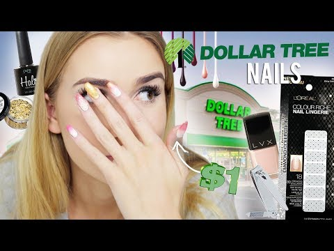 Dollar Tree Nail Art Challenge Why Am I Doing This I Suck At