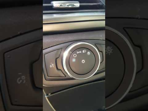 Ford Fusion Headlight Switch Replacement Youtube