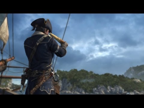 Biddle's Hideout (Full Sync) - Assassins Creed III Naval Mission