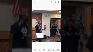 Black maywood academy teacher kicks racists students ass