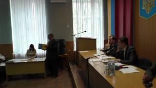 Година ТВ - сесія Решетилівської районної ради. частина 2