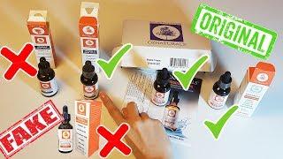 الفرق بين سيروم فيتامين سي اوز ناتشورال الاصلي والتقليد Oz Naturals vitamin c serum real vs fake