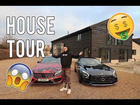 MY INSANE UNFURNISHED HOUSE TOUR!!!