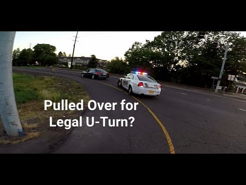 Car Gets Pulled Over for Legal U-Turn?