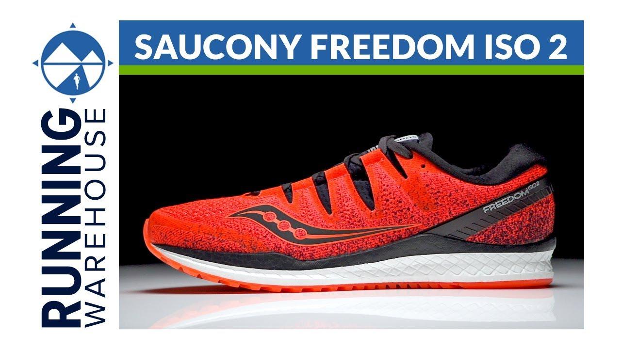 ea021609e386b Saucony Freedom ISO 2 - YouTube