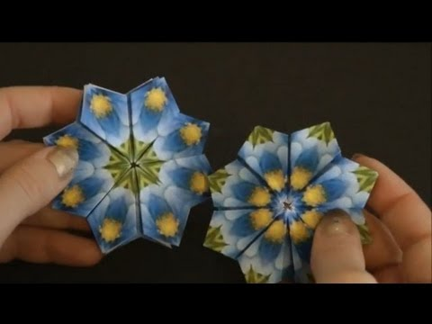 BASIC ORIGAMI FOLDS - Petal Fold and Bird Base - YouTube | 360x480