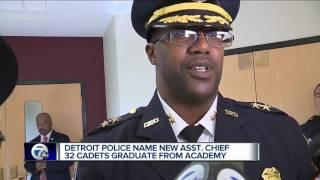 Detroit Police Department names new assistant chief