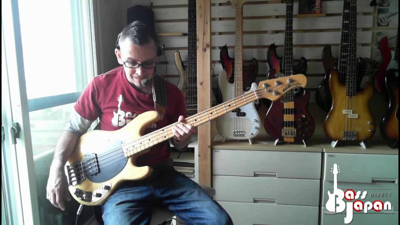 bass hunter musicman stingray ex mid 90 39 s youtube. Black Bedroom Furniture Sets. Home Design Ideas