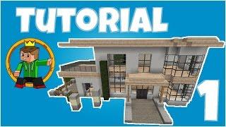 Minecraft Tutorial - Wie baue ich ein schönes Haus #3 (Teil 1 - Rohbau)
