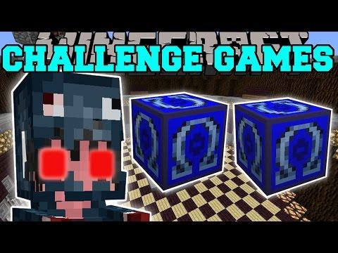 Minecraft: MUTANT SQUID GIRL CHALLENGE GAMES - Lucky Block Mod - Modded Mini-Game