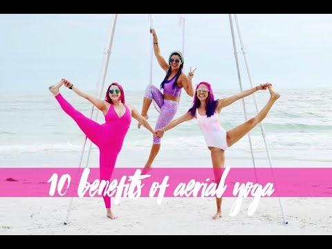 10 Benefits of Aerial Yoga