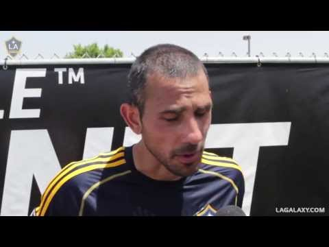 Pablo Mastroeni & Galaxy players discuss trade