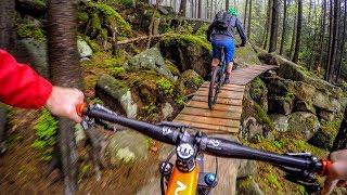 Breathtaking beautiful and BEYOND BAD ASS! | Mountain Biking Rychlebské