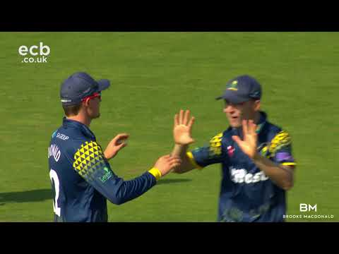 GLAMORGAN V MIDDLESEX - ROYAL LONDON ONE-DAY CUP MATCH ACTION