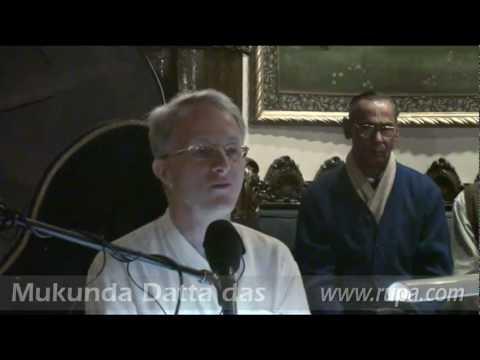 Gaura Purnima - Lecture - Mukunda Datta das - Evening