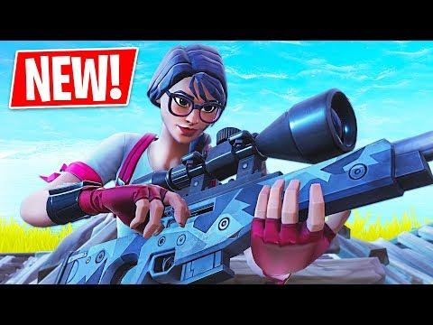 New Sniper Gameplay!! *Pro Fortnite Player* // 1800 Wins // Fortnite Battle Royale