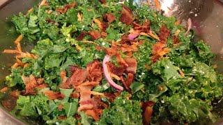 Bacon Kale Slaw