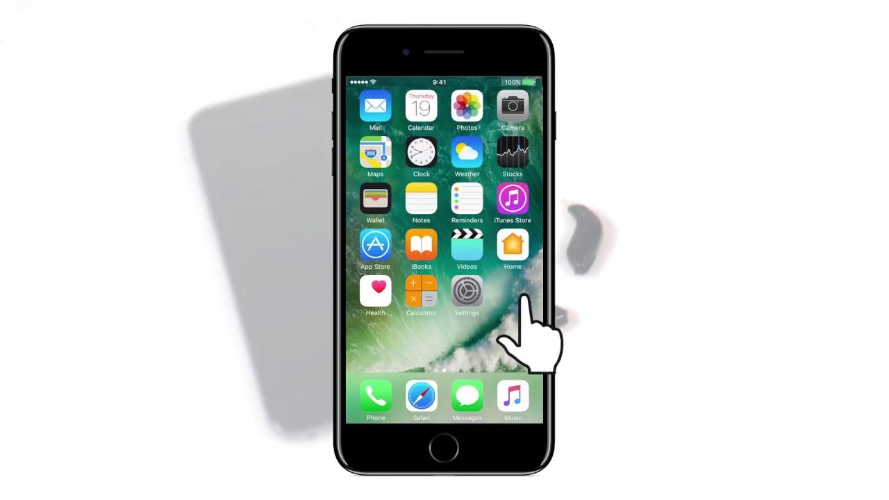 iPhone collegamento app