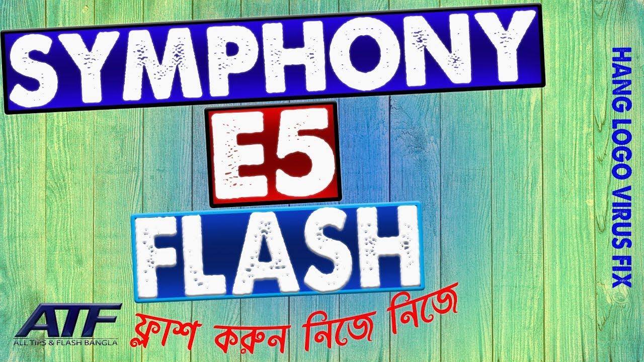 SYMPHONY E5 FLASH