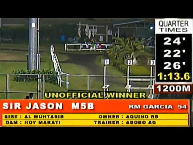 SIR JASON - MMTCI RACE 9 JANUARY 26, 2020 BAYANG KARERISTA HORSE RACING AT METRO TURF