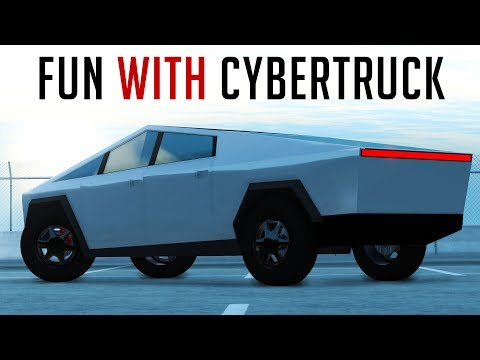 50000 Subs Special – Fun With Tesla Cybertruck | BeamNG Drive