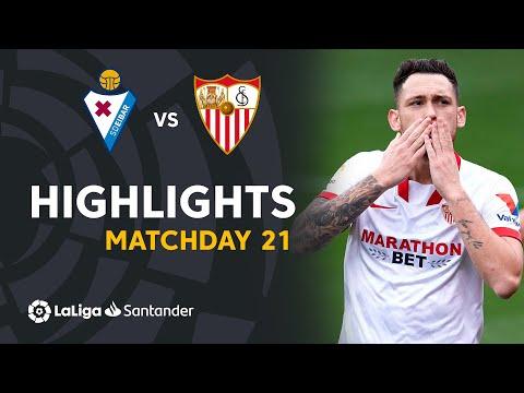 Eibar Sevilla Goals And Highlights