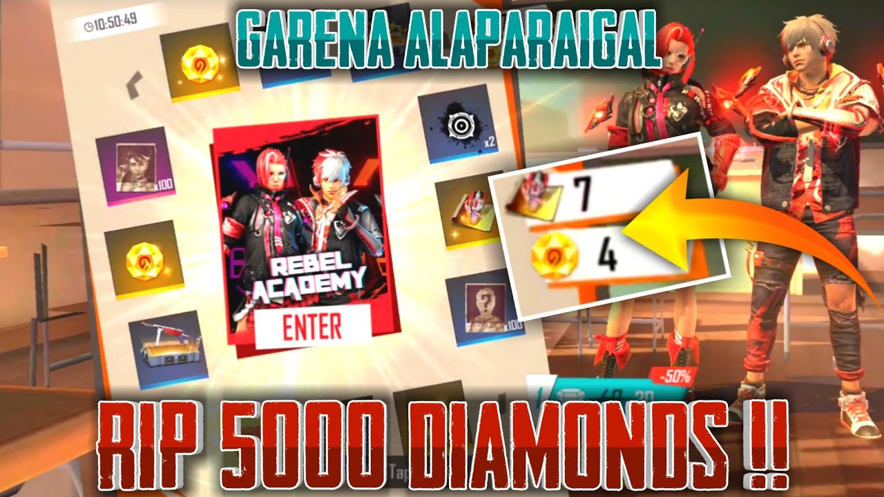 Fake Garena Rip My 5000 Diamonds || Free Fire Tricks Tamil || Sk Gaming