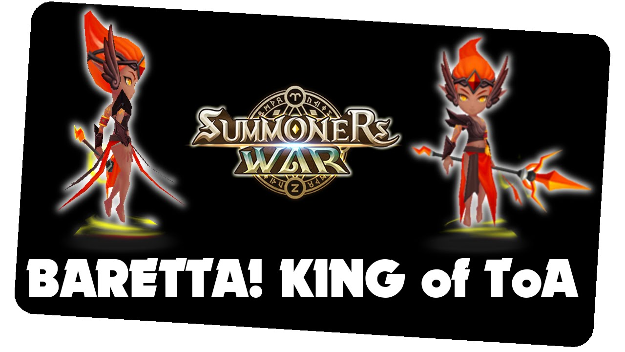 how to get baretta summoners war