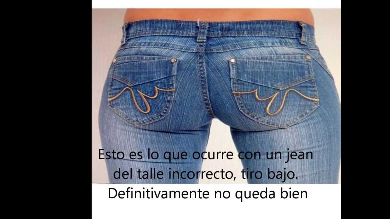 jeans para cada forma de cuerpo - YouTube feac2333c046