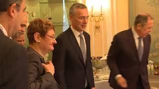 С.Лавров и Генеральный секретарь НАТО