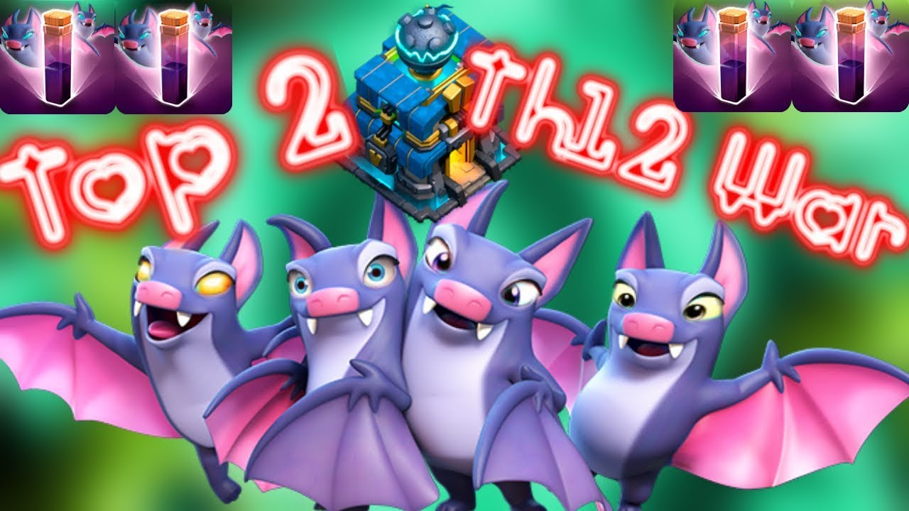 Base War Th 12 Anti Bat Spell 8