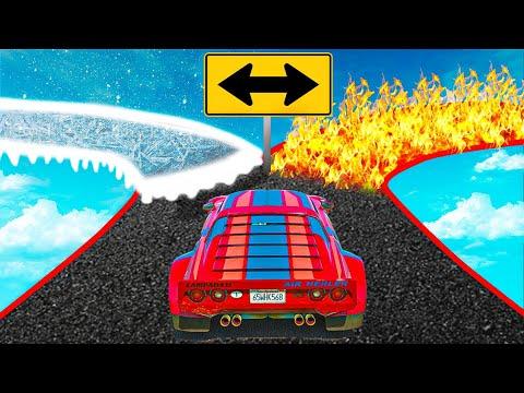 قراند 5 : تحدي للمحترفين فقط GTA V !! 😱🔥