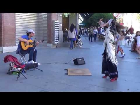 Flamenco Street Perfomance in Sevilla 2017 (2)