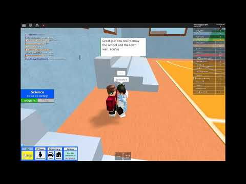 The Answers for the Quiz Roblox HighSchool - YouTube
