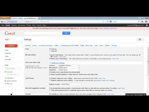 How To Control The Privacy Of Your Chat Sessions In Gmail