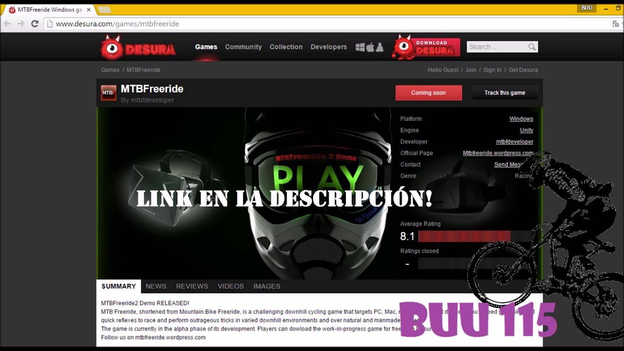 MTB Freeride - Downhill Simulator Gameplay #2 - German ...