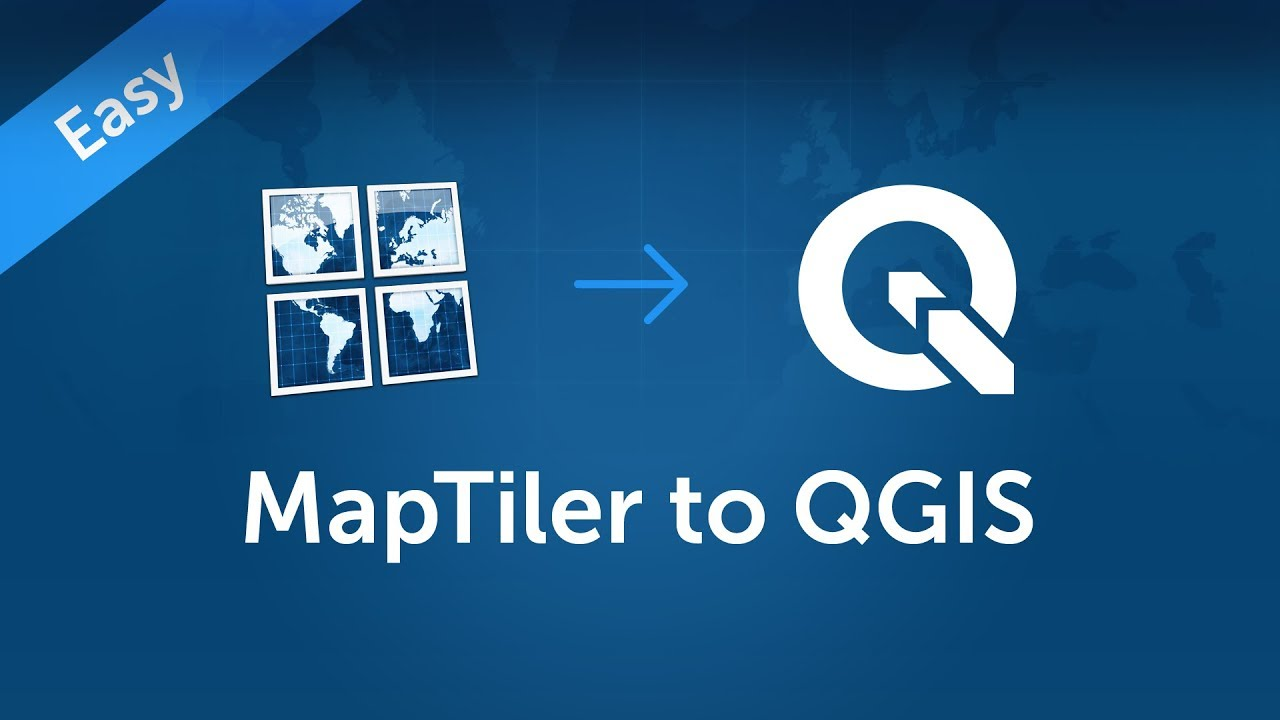 Open maps in QGIS | MapTiler Support