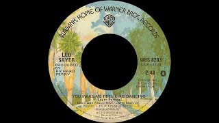 Leo Sayer ~ You Make Me Feel Like Dancing 1976 Disco Purrfection Version