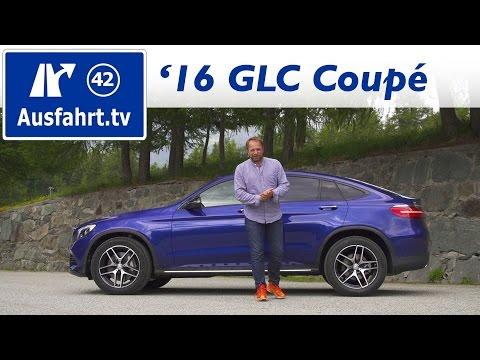 Bild: Mercedes-Benz GLC 300 4MATIC Coupé 2016 - Zugfahrzeugtest