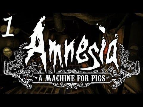 阿津失憶癥 豬群機器 (1) - 籠子中醒來《Amnesia: A Machine for Pigs》 - YouTube