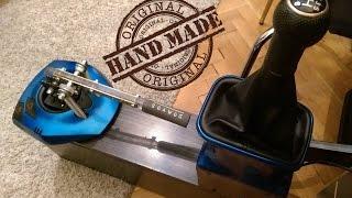 Homemade 7.1 H-Shifter + HandBrake