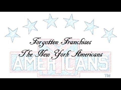 New York Americans - Forgotten Franchises