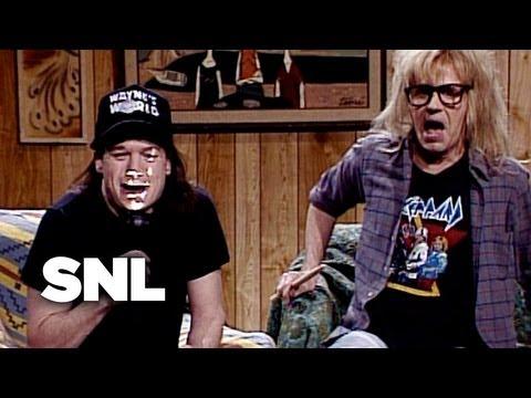 Wayne's World: At The Movies - SNL