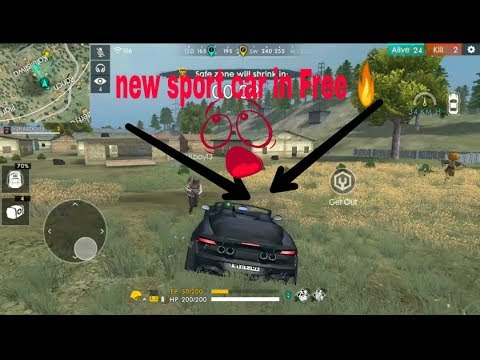 New Sport Car In Free Fire Youtube