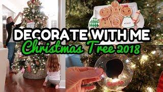 DECORATE WITH ME FOR CHRISTMAS 2018 // CHRISTMAS TREE 2018 // CHRISTMAS MUSIC
