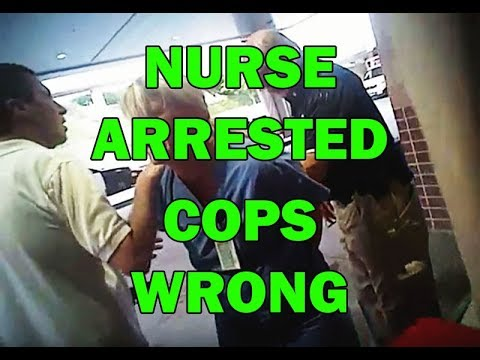 Nurse Arrested By Police While Protecting Unconscious Cop's Rights - LEO Round Table episode 336