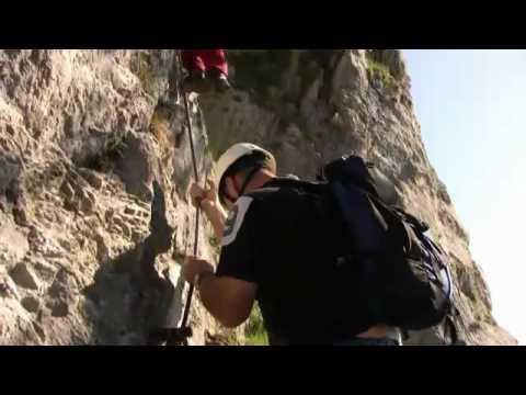 Klettersteig Mondsee : Drachenwand klettersteig mondsee youtube
