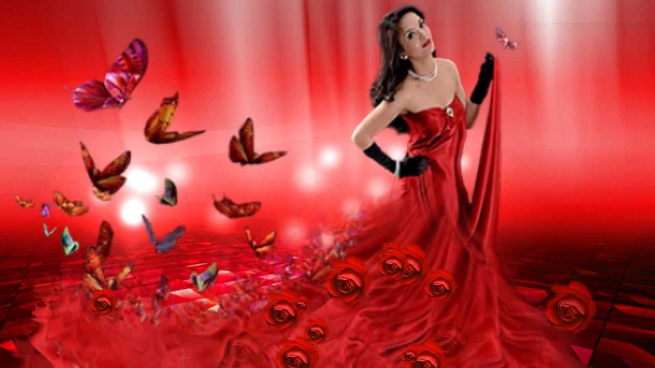chris de burgh la dama de rojo lady in red youtube