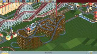 RollerCoaster Tycoon Deluxe - Bumbly Beach [HD] (Hasbro Interactive) (1999/2002)