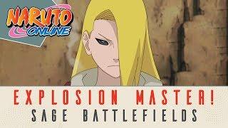 Naruto Online    The Explosion Master Edo Deidara    Sage Battlefields